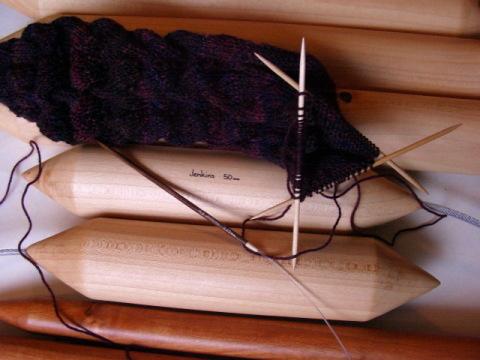 Variety of Knitting Needles