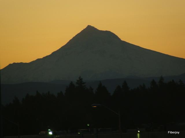 Mt Hood Dawn