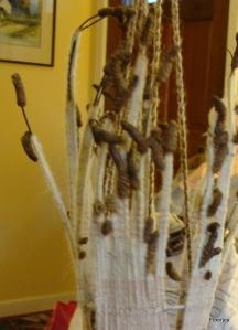 Woven seed basket
