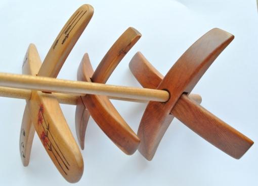 Three Spindles